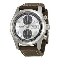 Hamilton Men's H71566553 Khaki Field Auto Chrono Watch