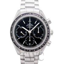 Omega Speedmaster Racing Chronograph Black Steel 40mm -...