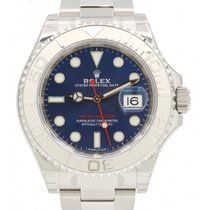 Rolex Yacht-Master 40 116622-BLU Blue Dial Platinum Bezel...