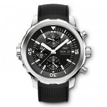IWC Aquatimer Chronograph  Black Dial Automatic IW376803 Mens...