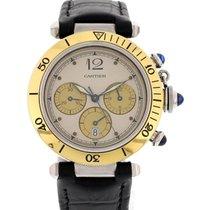 Cartier Pasha de Cartier Chronograph SS & 18k YG 1032