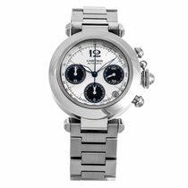 Cartier Pasha Automatic Chronograph Watch W31048M7 (Mint)