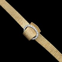 Omega 1967 Vintage Ladies Covered Cocktail Watch - 14K Gold...