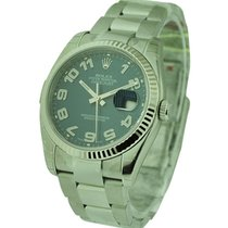 Rolex Unworn 116234_blue_arabic_con Datejust 36mm in Steel...