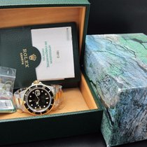 롤렉스 (Rolex) 1999 ROLEX SUBMARINER 16613 2-TONE BLACK DIAL WITH...
