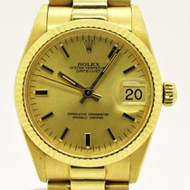 Rolex Datejust Medium Size 30 mm gold