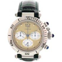 Cartier Pasha de Cartier Chronograph Stainless Steel Watch
