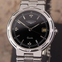 Longines Conquest Men's 1990s Stainless Steel Swiss Made...