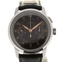 Vulcain 50s Presidents'Chronograph Heritage 42 Steel L.E.