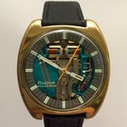 Bulova Accutron Spaceview M9 38 mm. Goldfilled original box