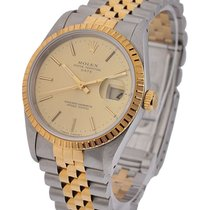 Rolex Used 15223_used_champ_stick Date 2-Tone 36mm Steel and...