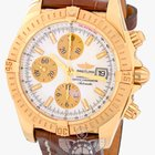 Breitling Chronomat Evolution Yellow Gold Pearl Dial