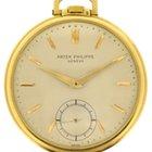 Patek Philippe 18k yellow gold Calatrava-style Pocketwatch...