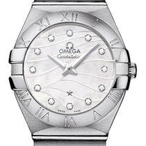 Omega Constellation Brushed 27mm 123.10.27.60.55.003