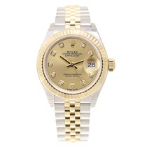 勞力士 (Rolex) Lady Datejust Gold And Steel Gold Automatic...