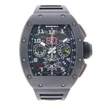 Richard Mille Felipe Massa Chronopassion Black DLC Titanium
