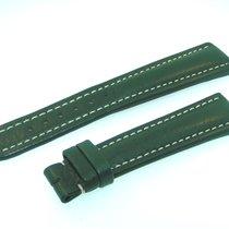 百年靈 (Breitling) Band 20mm Green Calf Strap Correa Ib20-15