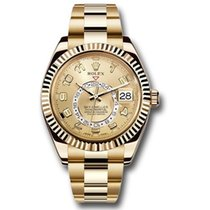 Rolex Sky-Dweller Yellow Gold