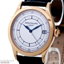 Patek Philippe Calatrava Ref-5296R-001 18k Rose Gold Papers...