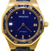 Audemars Piguet - Royal Oak set with sappires - wristwatch -...