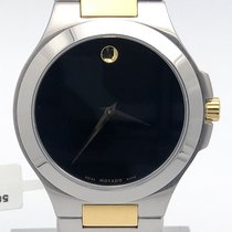 Movado Two Tone Gold Classic01.1.20.1036 40mm Mens Watch