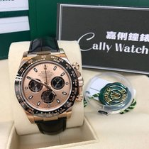Rolex Cally - Discontinued Daytona 116515LN Pink Dial (皮帶)