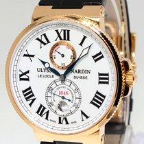 Ulysse Nardin Maxi Marine Chronometer 18k Rose Gold Mens Watch...