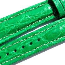 Breitling Band 20mm Croco Green Verde Grün Strap Ib016