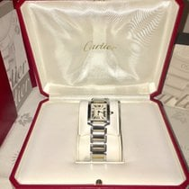 Cartier Tank Française/Woman/Steel-Gold 18K/W51007Q4