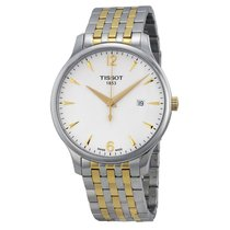 Tissot T-Classic Tradition White Dial Men's Watch