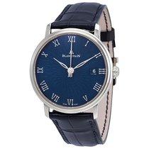 Blancpain Villeret Ultra Slim Blue Dial Men's Watch
