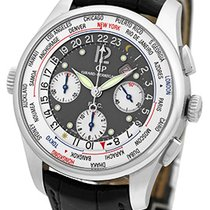 "Girard Perregaux ""World Time Chronograph"" Strapwatch."