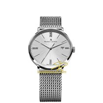 Maurice Lacroix Eliros Date Silver Dial, Steel Milanaise...