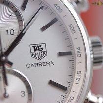 TAG Heuer Men's Carrera Calibre 1887 41mm Steel on Steel ...