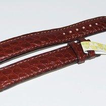 Chopard CROCO Lederband, braun  18/16 mm