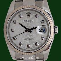 Ρολεξ (Rolex) Datejust 116234 Rolex Dial 18k White Gold Bezel...