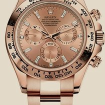 Rolex Daytona Golden Baguette Diamonds