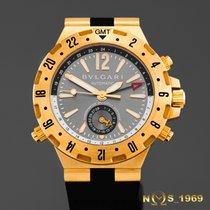 宝格丽 (Bulgari) Diagono Professional GMT  18K Gold Automatic...