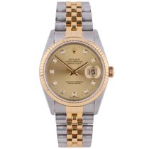 Rolex Pre-Owned DateJust Watch 16233 1999 Model