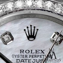 Rolex Datejust Womens Rolex 26mm White Mop Mother Of Pearl...