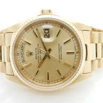 Rolex Presidential Day-Date  18K Yellow Gold 36mm Swiss Watch