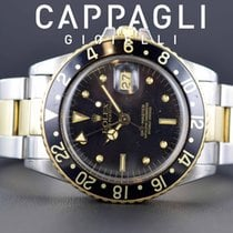 Ρολεξ (Rolex) GMT MASTER II 16753 Nipple Never polished 1984