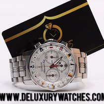 Corum Admiral's Cup Chronograph Steel Full Set Like New