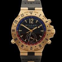Bulgari Diagono GMT 18k Yellow Gold Gents D29854 - W3274