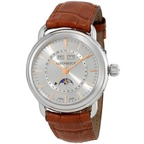 Aerowatch 1942 Automatic Moonphase Swiss Made Men's Watch