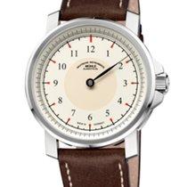Mühle Glashütte M 29 Classic Einzeiger Cream Dial-Leather...