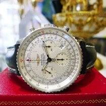 百年靈 (Breitling) Navitimer A23322 Silver Chronograph Automatic...