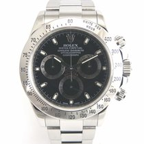 Rolex Daytona Black dial 116520 with papers.