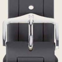 Hirsch Uhrenarmband Hevea grau L 40458830-2-22 22mm