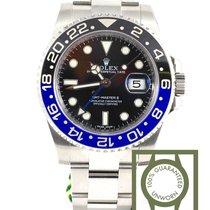 ロレックス (Rolex) GMT Master II blue black Batman NEW
